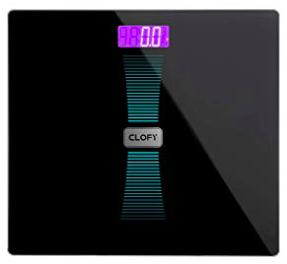 Clofy Digitale Personenwaage mit LCD-Display für 8,99€ (statt 18€)