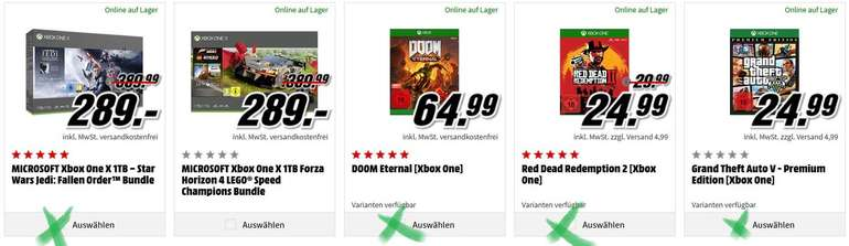 Microsoft Xbox One X 1TB – Star Wars Jedi Fallen Order GTA 5
