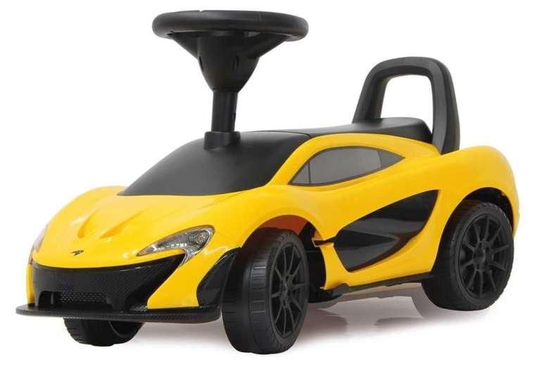 McLaren P1 Jamara Rutscher für Kinder ab 2 Jahren (mit Soundeffekten, Hupe, offiziell lizenziert) für 41,98€