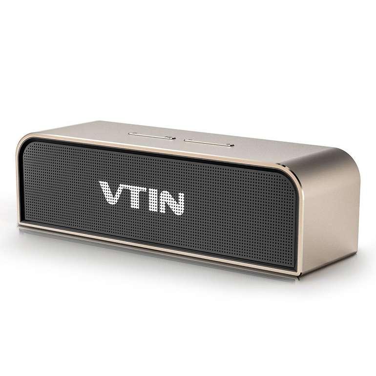 VTIN 20W Bluetooth Lautsprecher für 14,99€ inkl. Prime VSK (statt 40€)