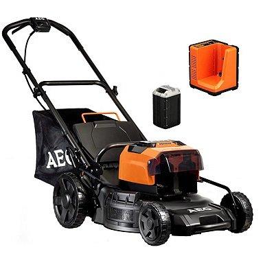 AEG Gartenwerkzeuge im Sale z.B. Akku-Rasenmäher - 50 V - schwarz für 389,90€