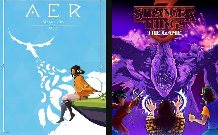 Epic Games Store: AER Memories of Old & Stranger Things 3: The Game kostenlos herunterladen