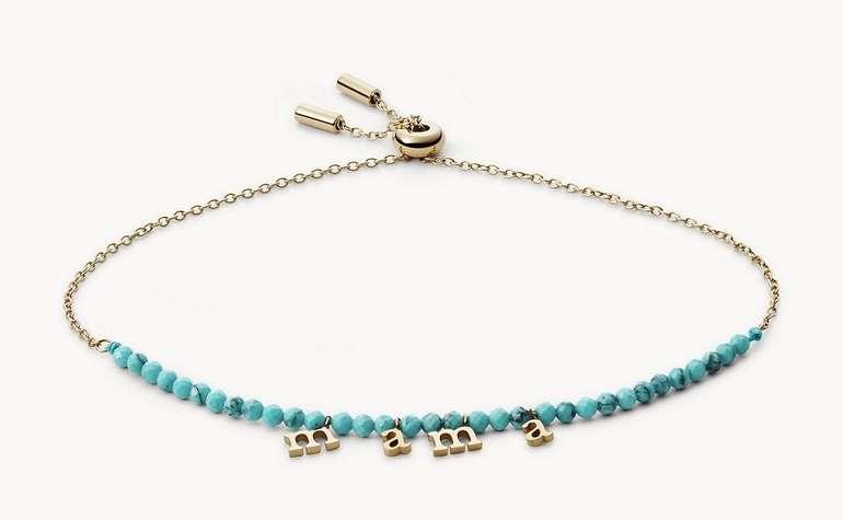 "Fossil Beads Armband ""Mama"" für 27,30€ inkl. Versand (statt 39€)"