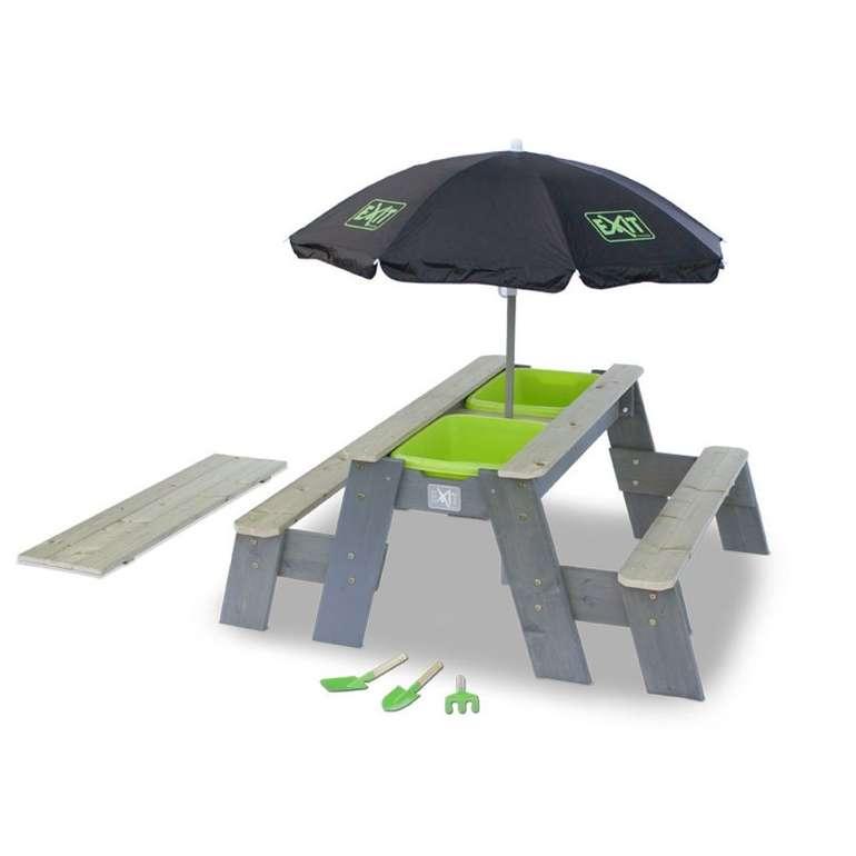 Exit Aksent Sand,- Wasser- & Picknicktisch (2 Bänke) für 91,99€ inkl. Versand (statt 115€)