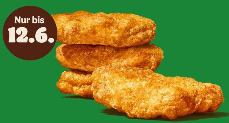 Burger King: Gratis Plant-based Nuggets testen (bis zu 12.06.2021) - APP!