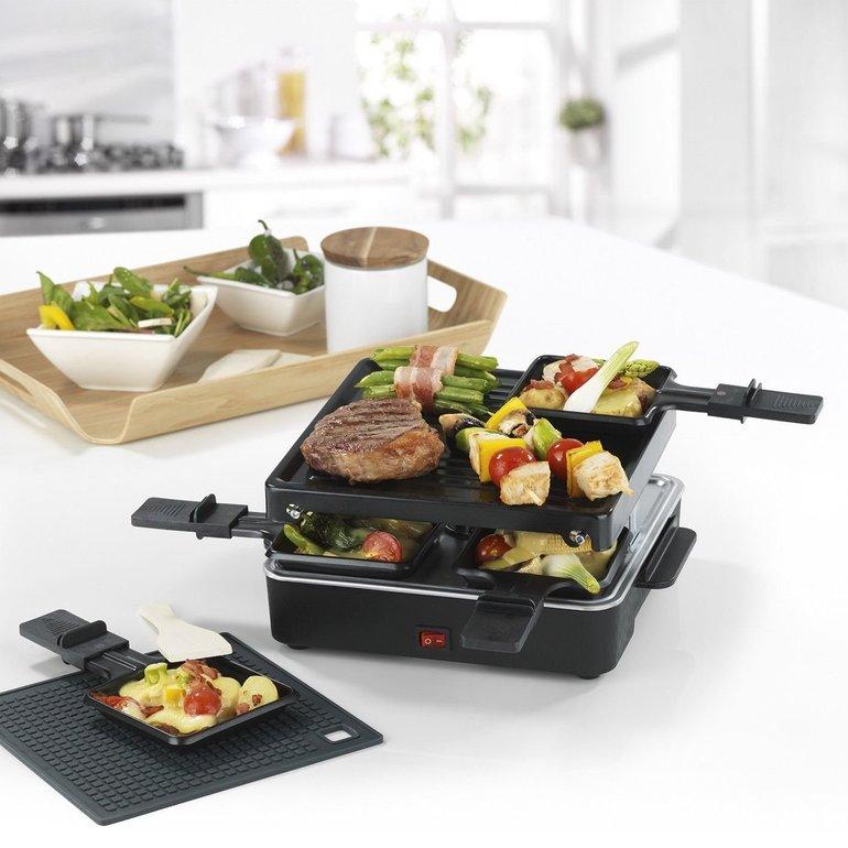 GOURMETmaxx Raclette-Grill mit 600W für 4 Personen für 11,99€ inkl. Versand