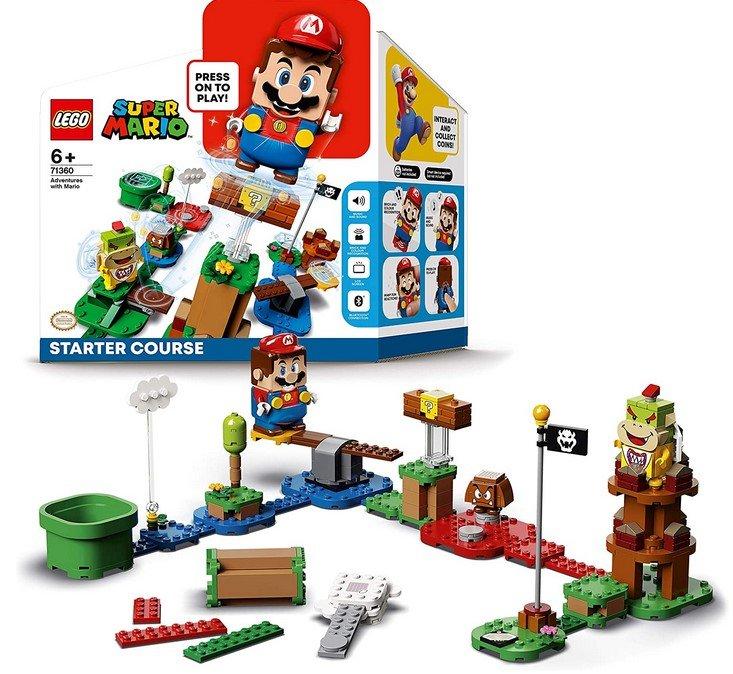 SmythToys: 6€ Gutschein bei Click&Collect, z.B. Lego 71360 Super Mario Abenteuer Set für 40,99€