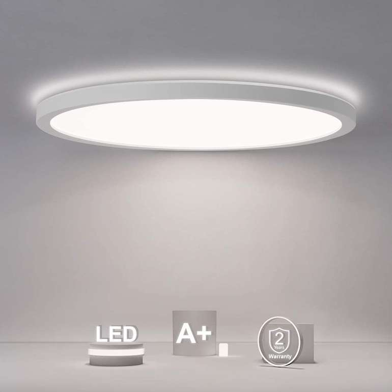 Shilook 18W LED Deckenleuchte (IP44, 4000K) für 15,59€ inkl. Prime Versand (statt 26€)
