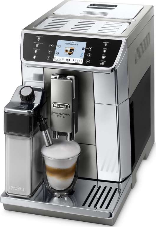 "De'Longhi Kaffeevollautomat PrimaDonna Elite ECAM 656.55.MS (App, Sensor-Touch) je 849,90€ - B-Ware ""wie neu"""
