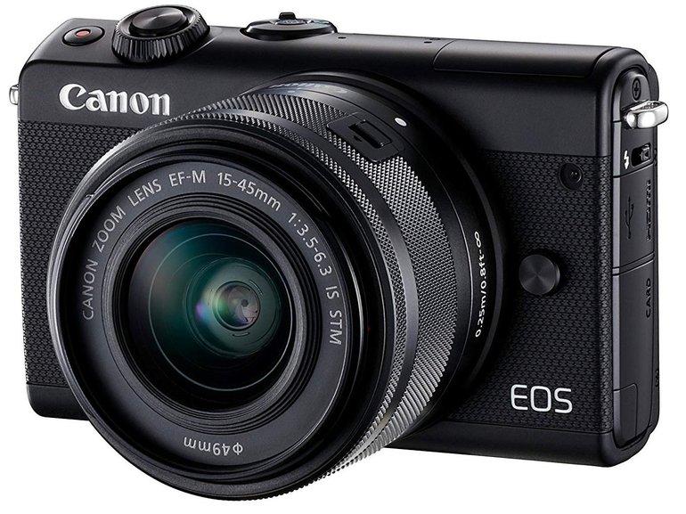 Canon EOS M100 Systemkamera 24.2 Megapixel mit Objektiv für 249€ (statt 290€)