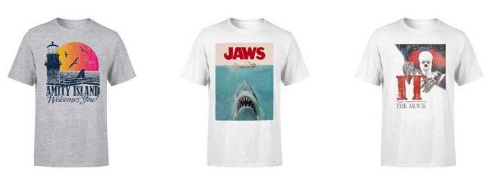 Verschiedene Film T-Shirts