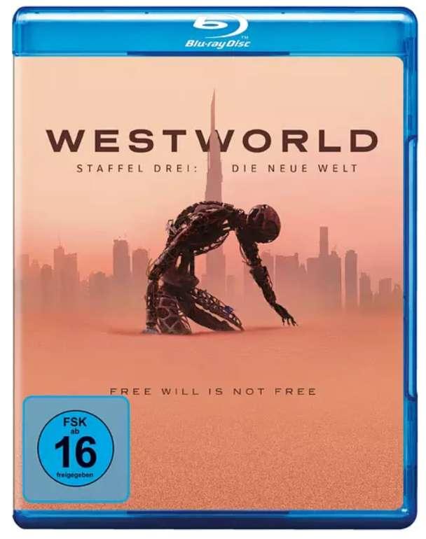Westworld - Season 3: Die neue Welt Blu-ray für 23,45€ inkl. Versand (statt 27€)