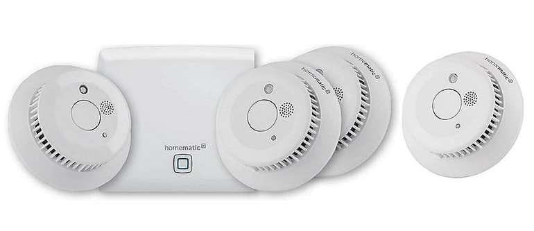 Homematic IP Starter Set inkl. 4 Rauchwarnmelder für 169€ inkl. Versand (statt 219€)