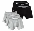 3er Pack Lacoste Herren Boxershorts für 29,90€ inkl. Versand (statt 45€)