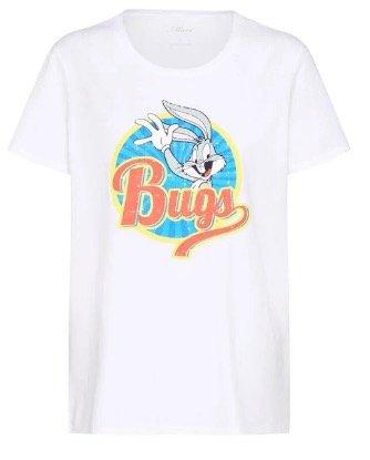 Mavi Damen T-Shirt 'Bugs Tee' in weiß für 16,92€ (statt 25€)