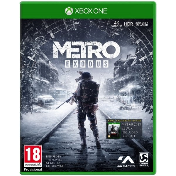 Metro Exodus (Xbox One, PS4) für je 26,98€ inkl. VSK