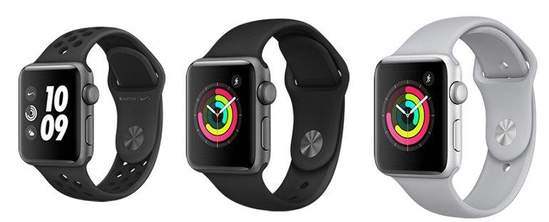 Apple Watch Series 3 GPS o2