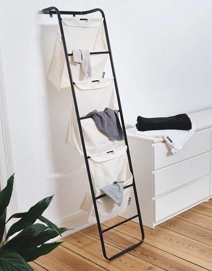 About You Air Brush Wäschebehälter (23 L x 43 B x 160 H) in beige für 13,41€ (statt 17€)
