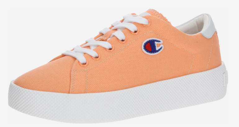 Champion Authentic Athletic Apparel Sneaker in hellorange / weiß für 22,45€ inkl. Versand (statt 45€)