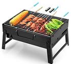 Uten Barbecue - Tragbarer BBQ Kohle Smoker Grill für 15,59€ inkl. Prime Versand