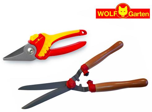 Wolf Garten Heckenschere HS-TL + Gartenschere RR1500 für 25,90€ (Vergleich: 42€)