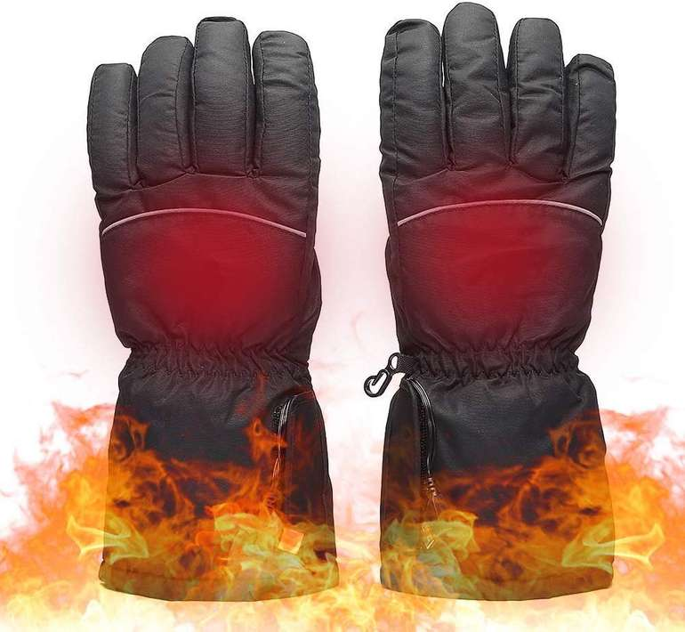 Beheizte Lixada Winter Handschuhe mit Touchscreen für 15,99€ inkl. Versand (statt 59€)