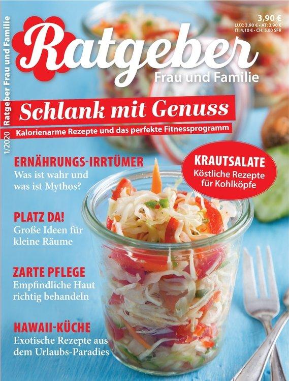 Ratgeber Frau und Familie Magazin im Jahresabo für 51,60€ + 45€ Amazon-Gutschein