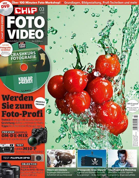 12 Ausgaben Chip Foto-Video mit DVD für 79,20€ + 55€ Amazon Gutschein