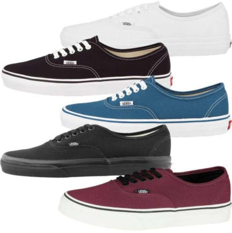Vans Authentic Classic - Unisex Sneaker versch. Farben für 24,99€ inkl. Versand (statt 50€)