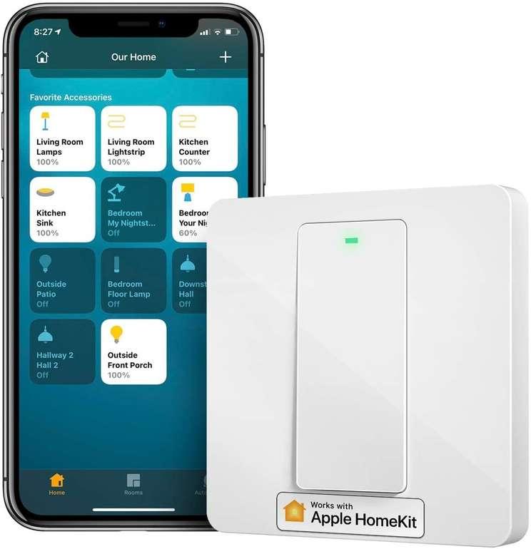 Meross Produkte bei Amazon reduziert, z.B. 1-Weg Smart Schalter für 17,54€