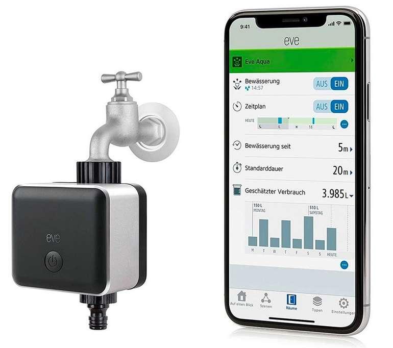 Eve Aqua - Smarte Bewässerungssteuerung