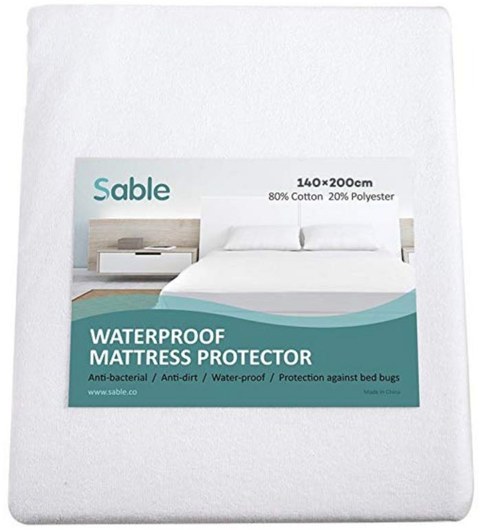 Sable Wasserdichter Matratzenbezug (90x200cm) für 12,99€ inkl. Versand (Prime)