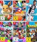 3 Nintendo Switch Spiele für 111€ z.B. Mario Kart 8 + Pokémon + Wolfenstein