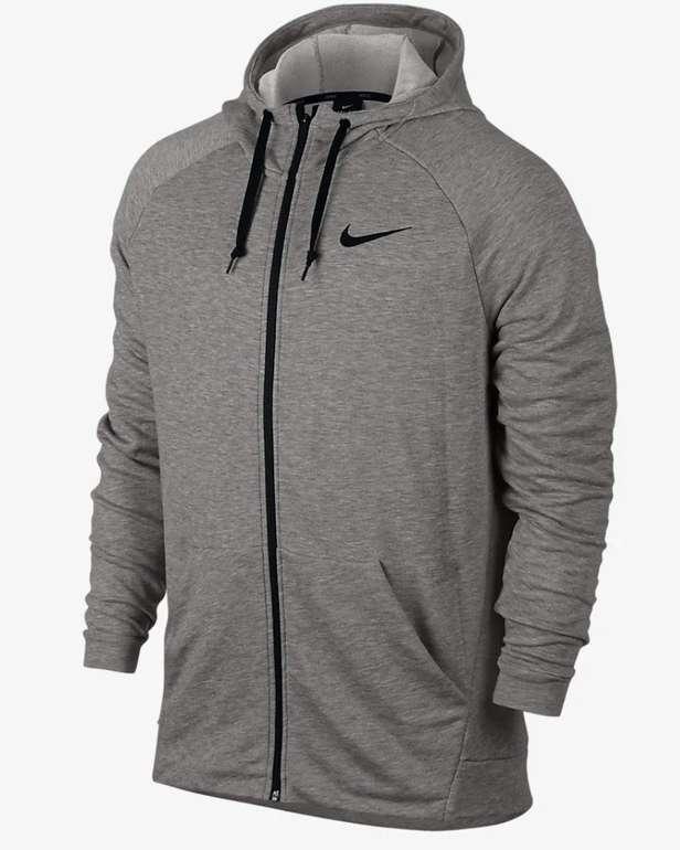 Nike Dri-FIT Herren Trainings-Hoodie in grau für 30,47€ inkl. Versand (statt 37€) - Nike Membership!
