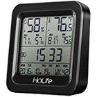 HoLife Thermo- Hygrometer mit Echtzeit-Feuchtigkeitsanzeige für 8,99€