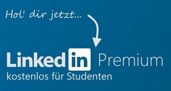 Studenten: LinkedIn Premium 12 Monate kostenlos & selbstkündigend!