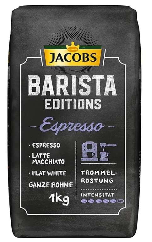 Jacobs Barista Editions Espresso Kaffeebohnen (1 kg) für 6,59€ inkl. Prime Versand (statt 16€)