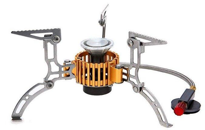 Tomshoo - Mini Gaskocher (zusammenklappbar) für 12,34€ inkl. VSK