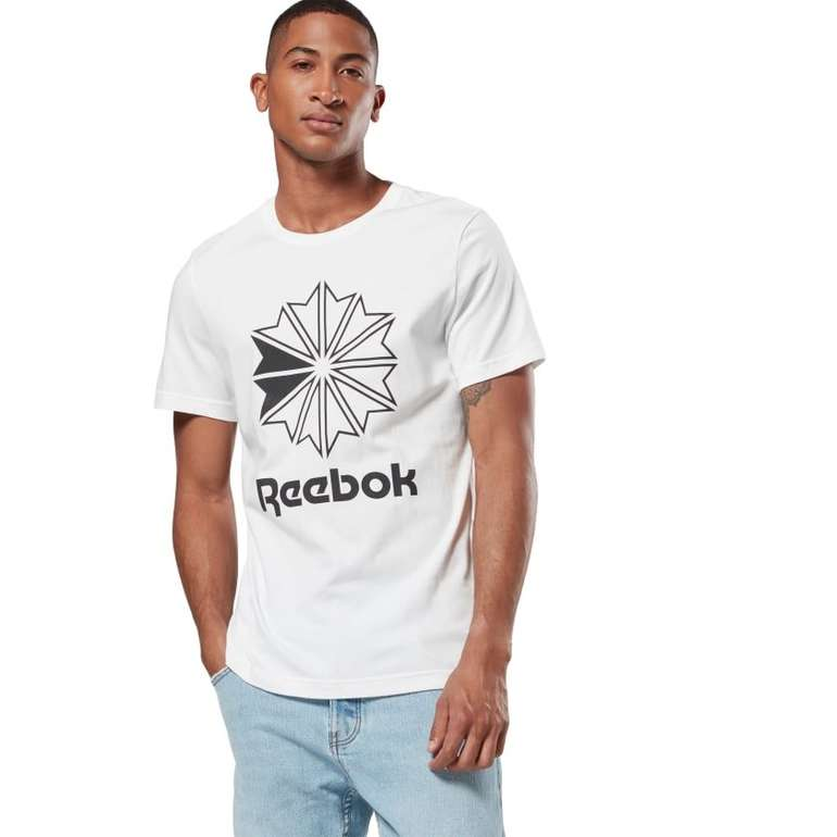 Reebok Classics Big Logo T-Shirt in blau für 20,72€ inkl. Versand (statt 34€)