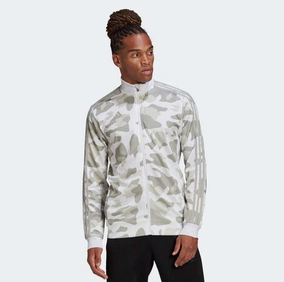 Adidas Tiro Allover Print Herren Jacke für 26,93€ inkl. Versand (statt 55€)