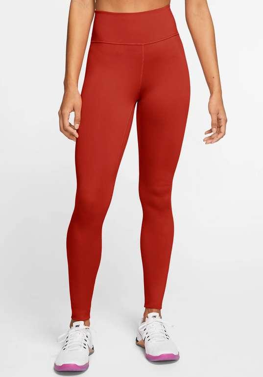 Nike One Damen Leggings mit mittelhohem Bund in Rot für 20,98€inkl. Versand (statt 33€) - Nike Membership!