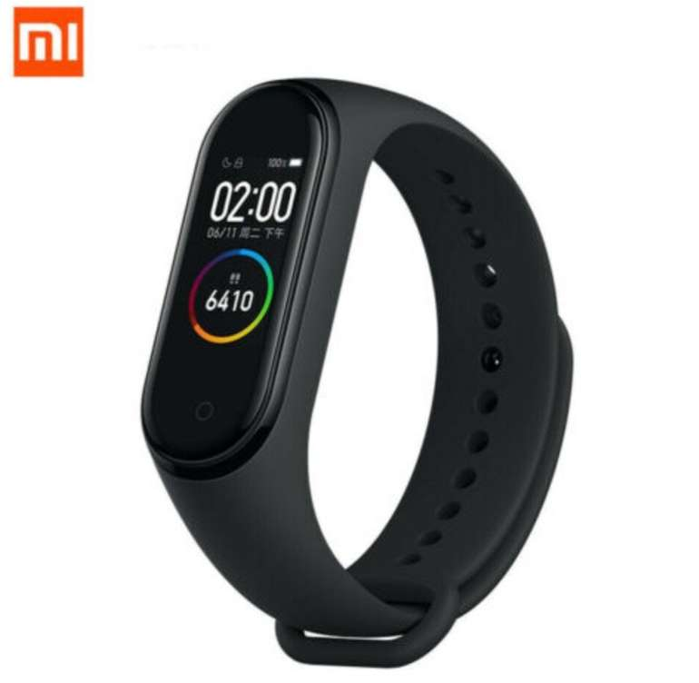 Xiaomi Mi Band 4 Fitness-Tracker mit bis zu 20 Tagen Akkulaufzeit für 16,84€ inkl. Versand