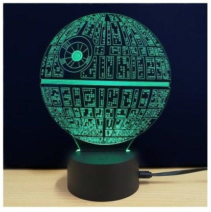 M.Sparkling 3D Todesstern Lampe für 5,02€ inklusive Versand
