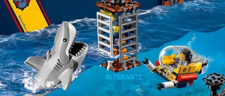 Lego City - Meeresforschungsschiff 60266