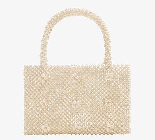 """Mango Damen Tasche """"Min Perlas"""" für 26,99€ inkl. VSK"""