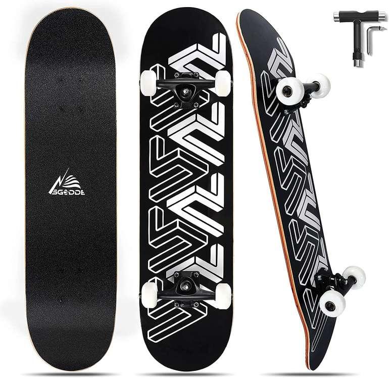 """Sgodde Skateboard (31x8"""", ABEC-7) für 42,63€ inkl. Versand (statt 61€)"""