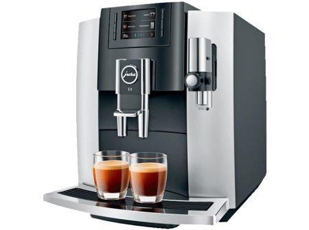 Jura E8 Modell 2018 Kaffeevollautomat Platin für 803,99€ inkl. VSK (statt 879€)