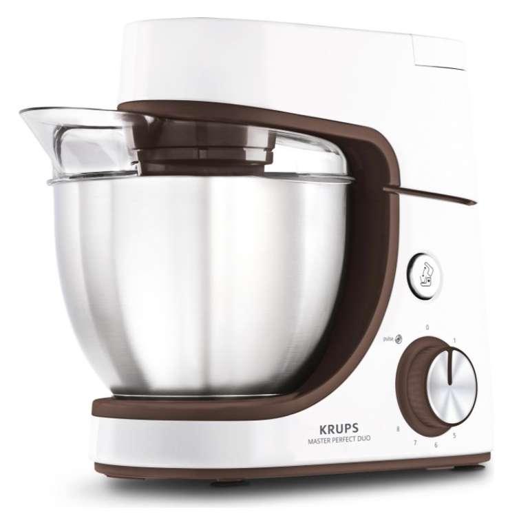 Krups KA51K1 Master Perfect Duo Küchenmaschine (1100 Watt, 8 Stufen, 4,6 Liter) für 158,19€ (statt 212€)