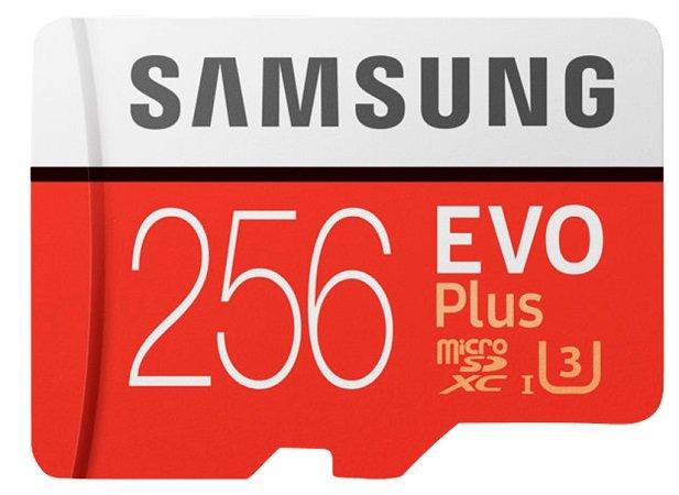 Samsung Evo Plus mit 256GB und bis zu 100 Mbit/s für 49€ inkl. VSK (statt 59€)