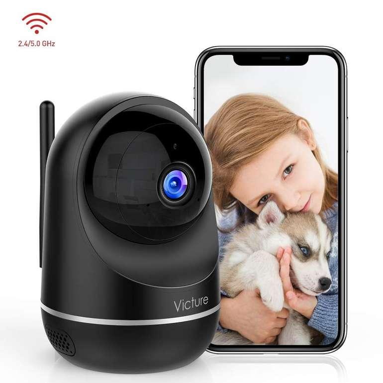 Victure Wlan IP Kamera (Full HD) Überwachungskamera für 23,99€ inkl. Versand